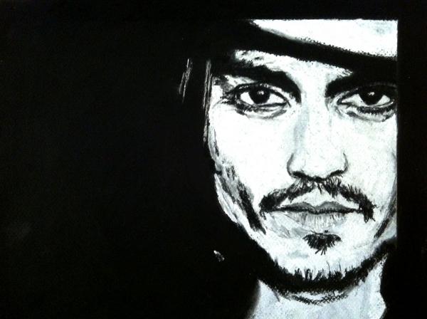 Johnny Depp por maximuslevrai